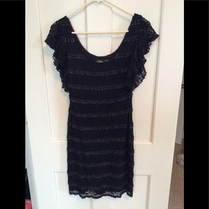 Black Lace Dress by Guess Size 6